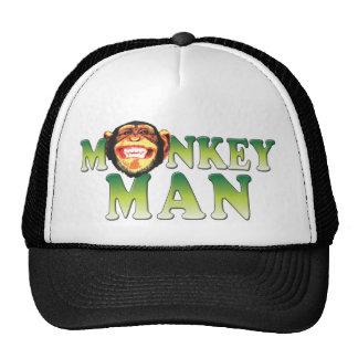 Homem do macaco boné