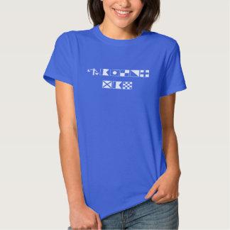 Homem do marinheiro - Semaphore T-shirts
