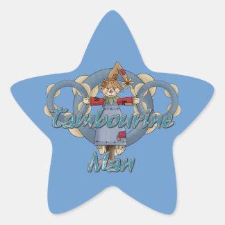 Homem do pandeiro adesito estrela