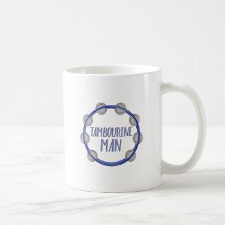 Homem do pandeiro caneca de café