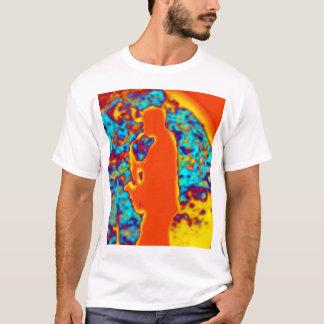 Homem do saxofone camiseta