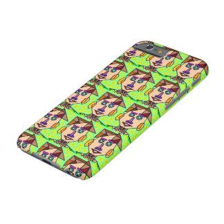 Homem engraçado, caso do iPhone 6 Capa Barely There Para iPhone 6