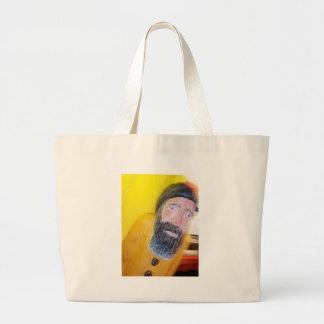 Homem farpado salgado do marinheiro bolsa