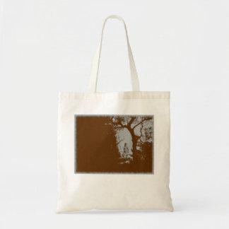 Homem-lobo no bolsa da variação da floresta