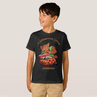Homem-lobo pequeno das avós camiseta