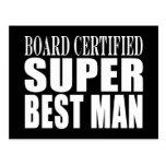 Homem super certificado o conselho do favor de fes