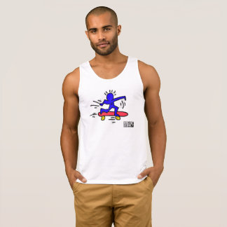 Homem TankTop do skate do pop art de DreamySupply
