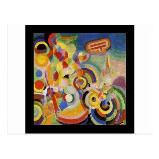 Homenagem a Bleriot por Robert Delaunay Cartão Postal
