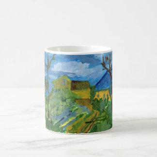 Homenagem à caneca de Cezanne