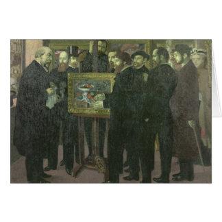 Homenagem a Cezanne, 1900 Cartão Comemorativo