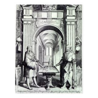 Homenagem a Durer c 1628 Cartões Postais