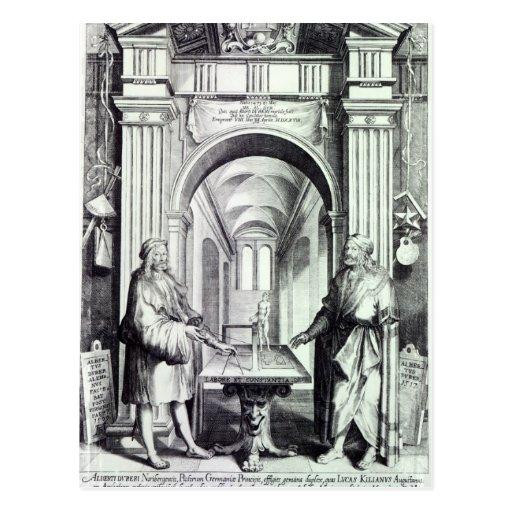 Homenagem a Durer, c.1628 Cartões Postais