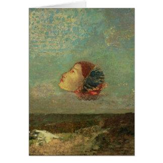 Homenagem a Goya, c.1895 Cartão Comemorativo
