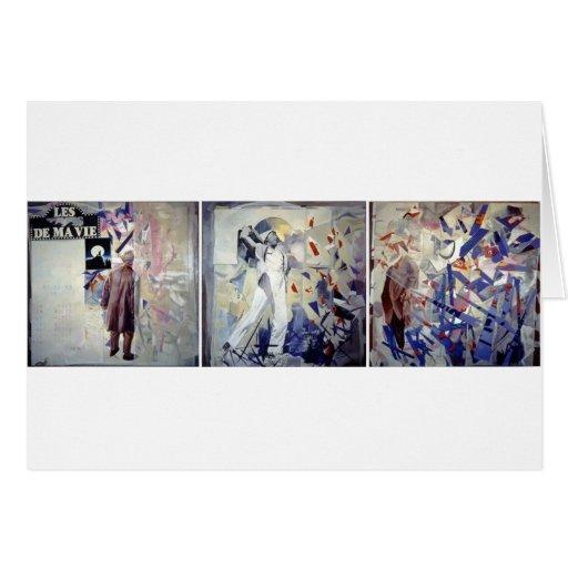 Homenagem a Jacques Tati Cartão