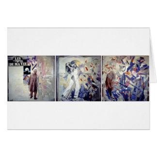 Homenagem a Jacques Tati Cartão Comemorativo