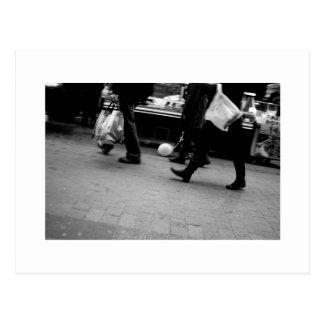 Homenagem de Daguerre Paris 14eme da rua a Agnes Cartão Postal