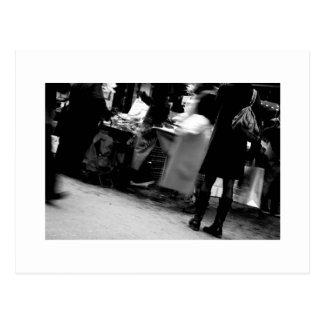 Homenagem de Daguerre Paris da rua a Agnes Varda Cartão Postal