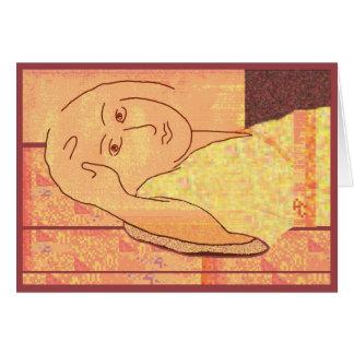 Homenagem para Matisse Cartão Comemorativo
