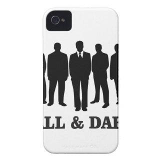 homens altos e escuros capa para iPhone