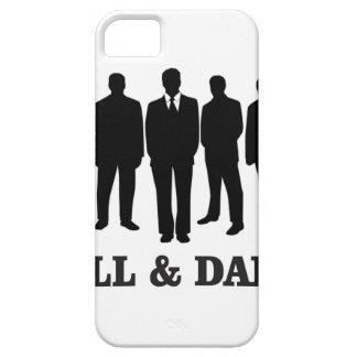 homens altos e escuros capa para iPhone 5