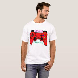 Homens da camisa do jogo t de Daniel