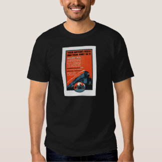 Homens de estrada de ferro camisetas