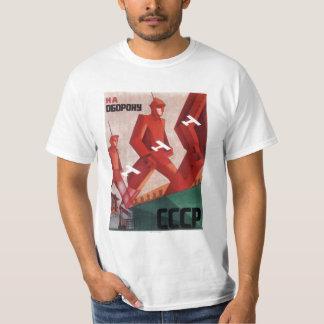 Homens do t-shirt da propaganda de CCCP URSS