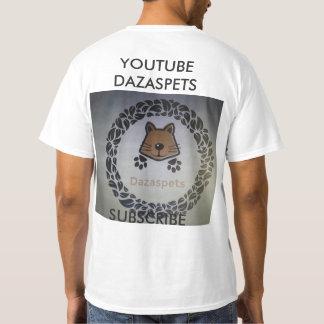 Homens do t-shirt de Dazaspets pequenos Camiseta