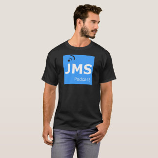 Homens do t-shirt do Podcast de JMS Camiseta