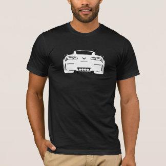 Homens escuros gráficos de Chevrolet Corvette Camiseta