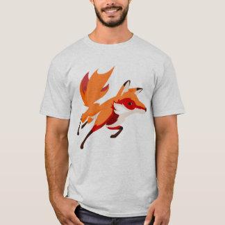 Homens Funky do Fox Camiseta