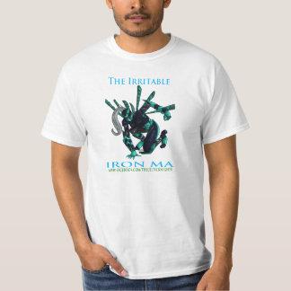 Homens irritáveis T das mães do ferro T-shirts