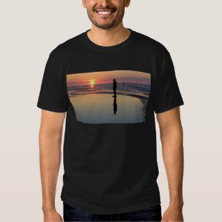 Homens no por do sol, Crosby do ferro, Liverpool Camiseta