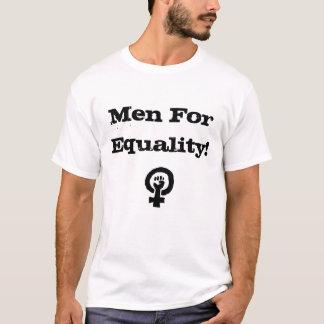 Homens para a camisa da igualdade