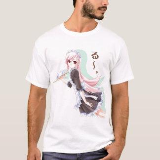Homens T de BBJ, menina do servidor Camiseta