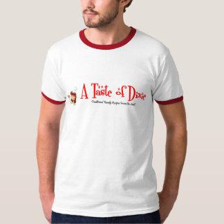 Homens um gosto do t-shirt da campainha de Dixie
