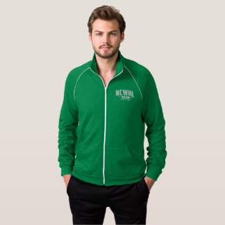 Homens verdes da jaqueta da divisão
