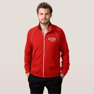 Homens vermelhos da jaqueta da divisão