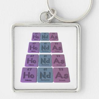 Hondas-Ho-Nd-As-Holmium-Neodymium-Arsenic png Chaveiros