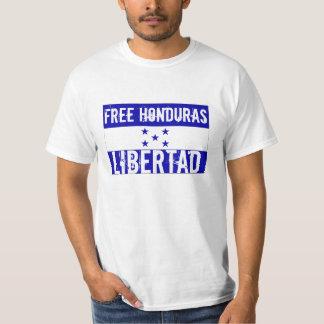 Honduras livre camiseta