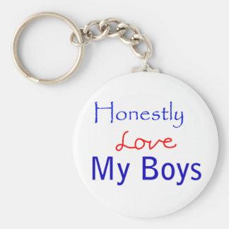 Honesto-Amor-Meu-Meninos Chaveiro