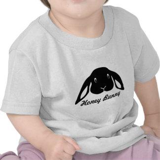 honey bunny hare rabbit t-shirts