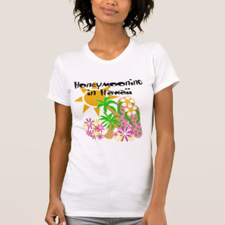 Honeymooning em Havaí T-shirts