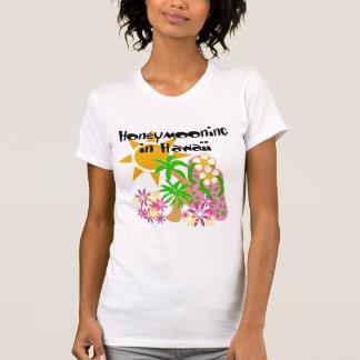 Honeymooning em Havaí Tshirts