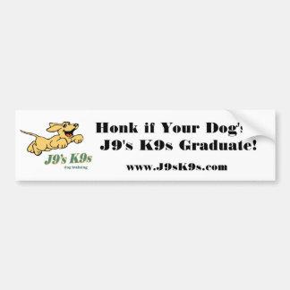 Honk se um J9 K9s Stic abundante graduado do seu c Adesivo Para Carro