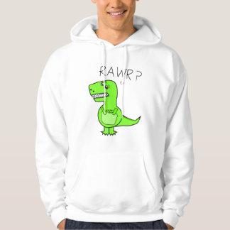 Hoodie adulto de T-Rex Moletom Com Capuz