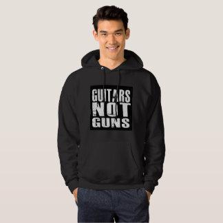 Hoodie básico do pulôver das armas das guitarra