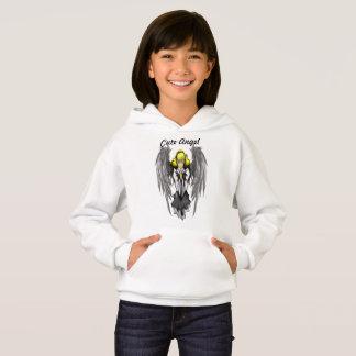 Hoodie bonito do Hanes ComfortBlend® das meninas