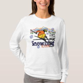 Hoodie da elevação do esqui de Utá do Snowbird Camiseta