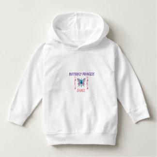 Hoodie da princesa Dança da borboleta Camisetas